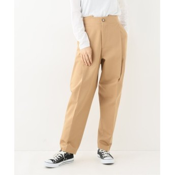 journal standard luxe 【BARENA VENEZIA/バレナ ヴェネツィア】 cotton tuck PANTS◆ ベージュ 44