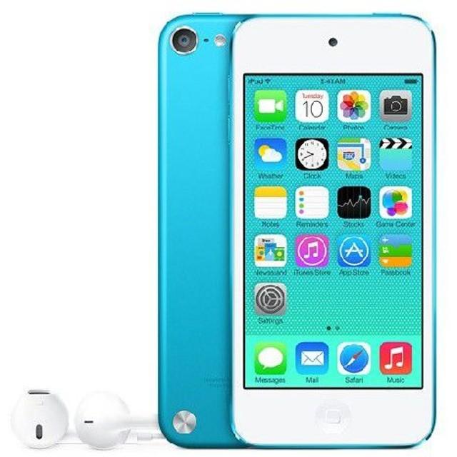 【タイムセール!!本日23時まで!!】●APPLE アップルiPod touch 【第5世代】 MGG32J/A [16GB ブルー]●【送料区分:Mサイズ】