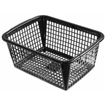 バスケット A4サイズ収納可 40×30×高さ17.5cm ブラック サンテール