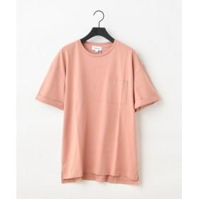 COLONY 2139(COLONY 2139) メンズ 袖折り返しルーズTシャツ ピンク
