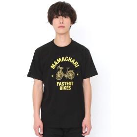(グラニフ) graniph Tシャツ ママチャリ (ブラック) メンズ レディース SS (g01) (g14)