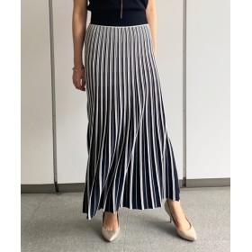 Loungedress(ラウンジドレス) レディース ニットプリーツスカート ブラック