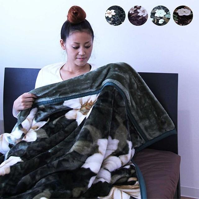 毛布 シングル マイクロファイバー ニューマイヤー 2枚合わせ  丸洗いOK