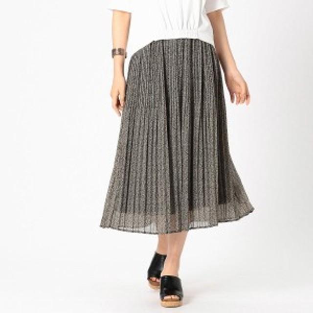 コムサイズムレデイス(COMME CA ISM)/レオパードプリント スカート