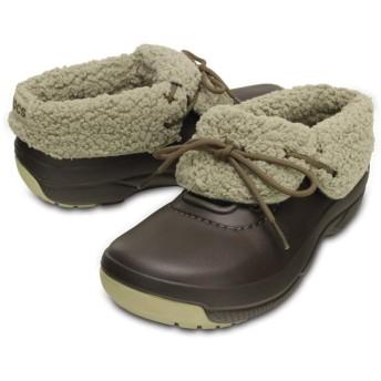 【クロックス公式】 ブリッツェン ラックス コンバーチブル クロッグ Blitzen Luxe Convertible Clog ユニセックス、メンズ、レディース、男女兼用 ブラウン/茶 22cm,23cm,24cm,25cm,26cm,27cm,28cm,29cm shoe 靴 シューズ 20%OFF