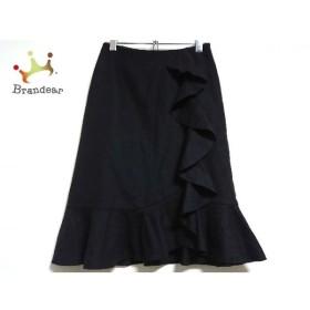 ギャラリービスコンティ GALLERYVISCONTI スカート サイズ2 M レディース 黒 フリル 新着 20190831