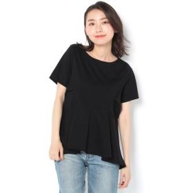 COLONY 2139(COLONY 2139) レディース シルケットペプラムTシャツ ブラック