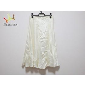 ドゥーズィエム DEUXIEME CLASSE ロングスカート サイズ38 M レディース アイボリー   スペシャル特価 20191123