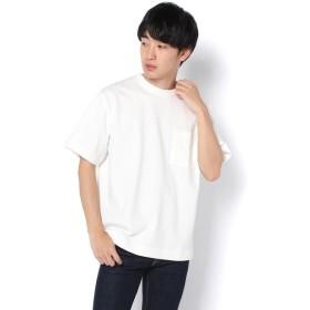 COLONY 2139(COLONY 2139) メンズ リバーシブル天竺ポケット半袖Tシャツ オフホワイト