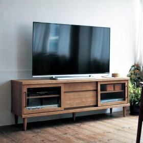 アンティーク調引戸のテレビ台