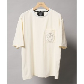EDIFICE Paris Saint-Germain TOKYO / パリサンジェルマン フェイクスウェードTシャツ ホワイト S