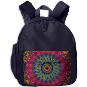 絵画サークルプリント子供のファッションバックパックスクールブックバッグ