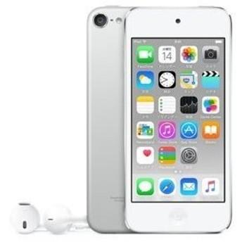 【タイムセール!!本日23時まで!!】●APPLE アップル iPod touch 【第6世代】 MKWR2J/A [128GB シルバー]●新品未開封品・安心のメーカ保証付き●