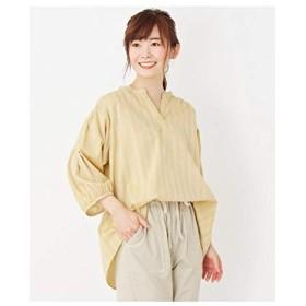 (サンカンシオン) 3can4on 【洗える】スキッパーシャツ 54086040 02(M) レモンイエロー(331)
