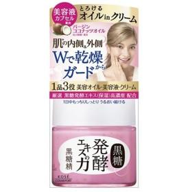 【あわせ買い2999円以上で送料無料】黒糖精 オイルinクリーム 80g