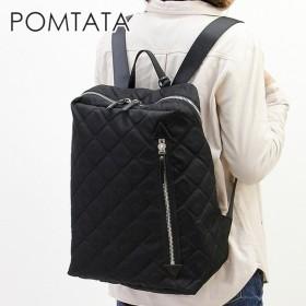 ポンタタ pomtata / リュック バッグ レディース ナイロン 軽量 a4 縦入れ 大容量 p1754