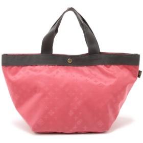 Daily russet(デイリー ラシット) レディース 【富山ナイロンジャガード】 舟型トートバッグ(M) ピンク