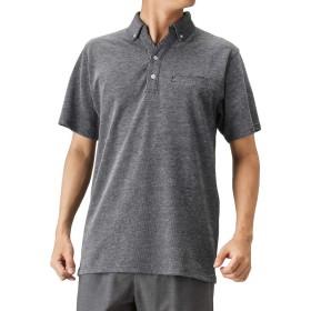 Navy(ネイビー) オーガニックコットンバーズアイポロシャツ 半袖 ポロシャツ スキッパー ボタンダウン MH/03620SS メンズ ネイビー:XL