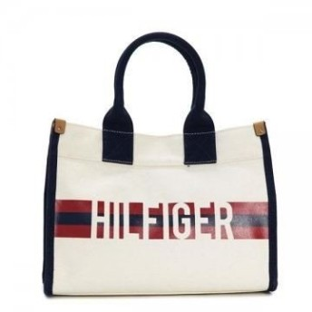 TOMMY HILFIGER トミーヒルフィガー MEDIUM TOTE HILFIGER STRIPE GRAPHIC 692974
