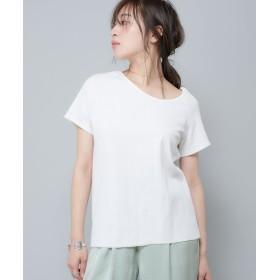 OUTLET(アウトレット) レディース 【Ciaopanic】アシメネックTシャツ オフホワイト
