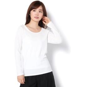COLONY 2139(COLONY 2139) レディース ランダムテレコリブクルーネック長袖Tシャツ オフホワイト