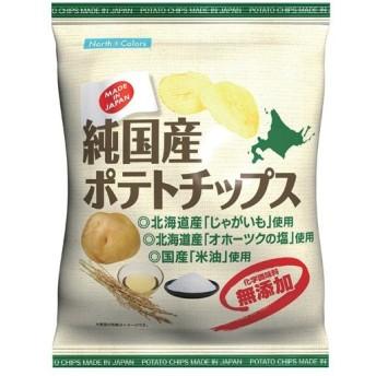 【あわせ買い2999円以上で送料無料】ノースカラーズ 純国産ポテトチップス 塩 60g