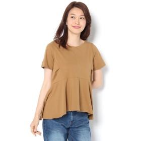 COLONY 2139 シルケットペプラムTシャツ