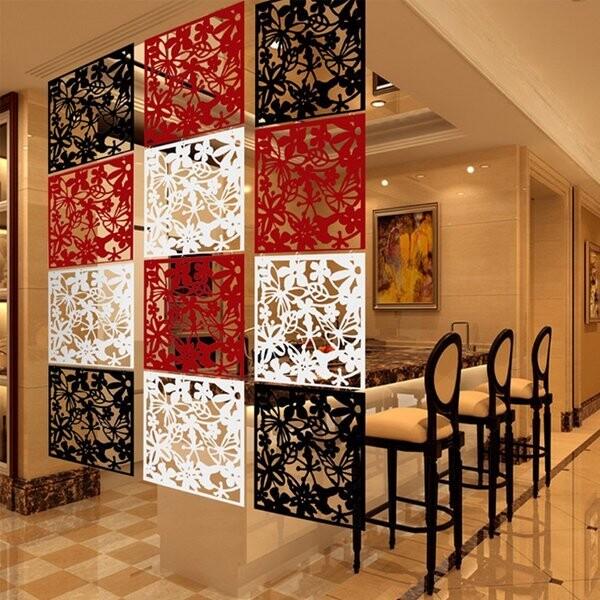 居家寶盒鏤空雕花屏風 隔板屏風 壁貼 背景牆 創意隔間 玄關門 臥室 廚房客廳 居家裝飾