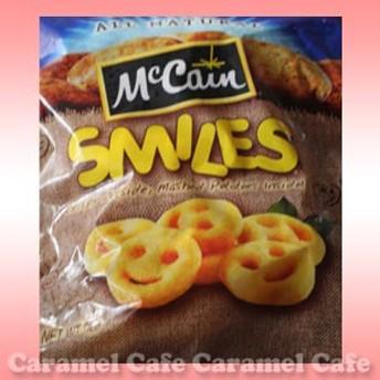 クール冷凍便【McCain マッケイン】 スマイルポテト 2kgフレンチポテトお弁当にお顔のアンパンマン好きの方にも【RCP】
