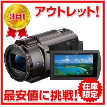 展示品 ソニー SONY ビデオカメラ FDR-AX40 TIC [デジタル4Kビデオカメラレコーダー Handycam(ハンディカム) ブロンズブラウン]