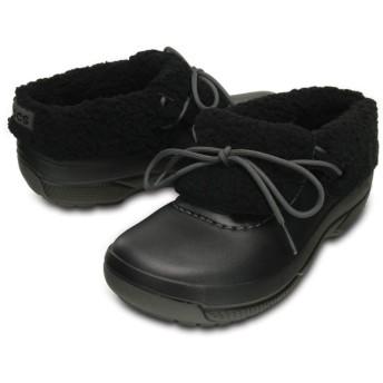 【クロックス公式】 ブリッツェン ラックス コンバーチブル クロッグ Blitzen Luxe Convertible Clog ユニセックス、メンズ、レディース、男女兼用 ブラック/黒 22cm,23cm,24cm,25cm,26cm,27cm,28cm,29cm shoe 靴 シューズ 20%OFF