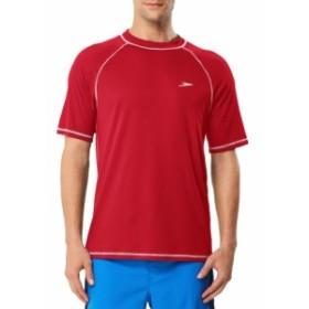 スピード Speedo メンズ ビーチウェア 水着・ビーチウェア Easy Short Sleeve Swim T-Shirt Atomic Red