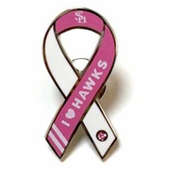 Ribbonpins(リボンピンバッジ) リボンピンバッジ 福岡ソフトバンクホークス I LOVE HAWKS