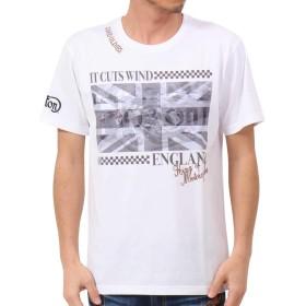 [ノートン] Norton Tシャツ ドライ ユニオンジャック 昇華 クルーネック TEE 192N1003 ホワイト XXL