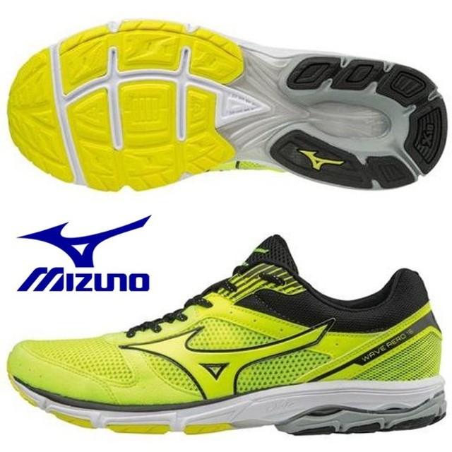 ミズノ MIZUNO/メンズ マラソン ランニングシューズ /ウエーブエアロ 16/ WAVE AERO 16/J1GA173545/マラソン初心者にオススメ
