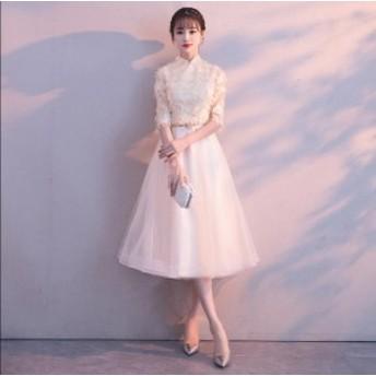 4色入 素敵 ワンピース 大きいサイズ 結婚式 ノースリーブ 二次会 パーティードレス プリンセスライン ロング マキシワンピ 可愛い 女性