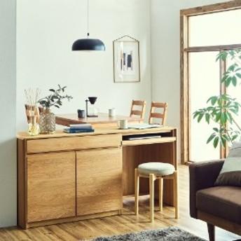 【受注生産】天然木オーク材の組み合わせリビング収納