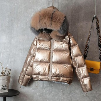 高品質秋冬アウター 最高級品質! 新品入荷♪小顔効果も発揮!も柔ら暖かいのファーの襟 中綿ジャケット 大きいサイズ 軽量 快適で暖かい アウター ダウンコート