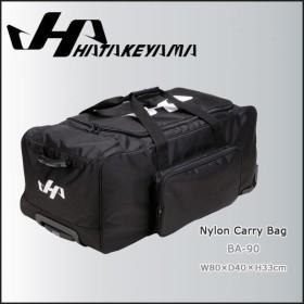 HATAKEYAMA ハタケヤマ ナイロン キャリーバッグ 幅80cm×奥行40cm×高さ33cm -ブラック-
