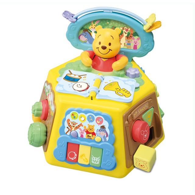 はじめて英語 プーさんゆびさき知育いっぱいできた おもちゃ おもちゃ・遊具・三輪車 ベビートイ (238)