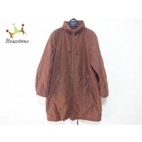 バーバリーズ Burberry's ダウンコート サイズ9AR S レディース ブラウン 冬物/中綿/刺繍 新着 20190831