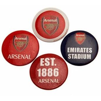 Arsenal F.C. Button Badge Set / アーセナル F.C. ボタン バッジ セット