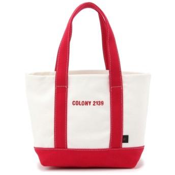 COLONY 2139(COLONY 2139) レディース ロゴ刺繍入りトートバッグ 小 レッド