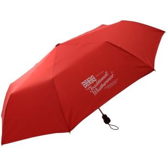 HELIOPOLE エリオポール 【Traditional Weatherwear】自動式折りたたみ傘 レッド