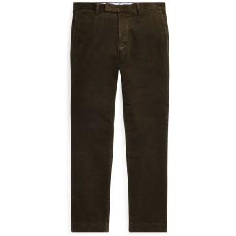 《期間限定セール開催中!》POLO RALPH LAUREN メンズ パンツ ダークグリーン 30W-34L コットン 99% / ポリウレタン 1% Stretch Slim Fit Corduroy Pant