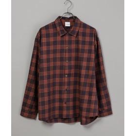 CIAOPANIC(チャオパニック) レディース 綿テンセルビエラチェックシャツ/WEB限定カラーあり レッド