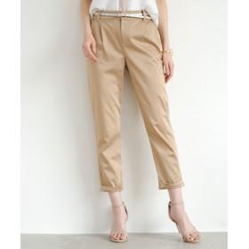 Loungedress(ラウンジドレス) レディース 裾ねじりパンツ ベージュ