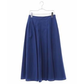 HIROKO BIS 【洗える】コットンタイプライタースカート その他 スカート,ブルー