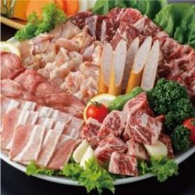 【送料無料】 焼肉 BBQ キャンプ 7種おまかせセット(6~8人前) 1800g 牛肉 豚肉 鶏肉 焼き肉 バーベキュー ギフト 肉 食べ物 おつまみ