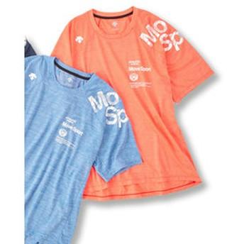 【GRAND-BACK:トップス】【大きいサイズ】デサント/DESCENTE ブリーズプラス Tシャツ